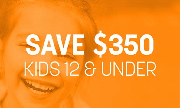 A child smiles and laughs under a special offer on pediatric dentistry at Lovett Dental Sharpstown in TX